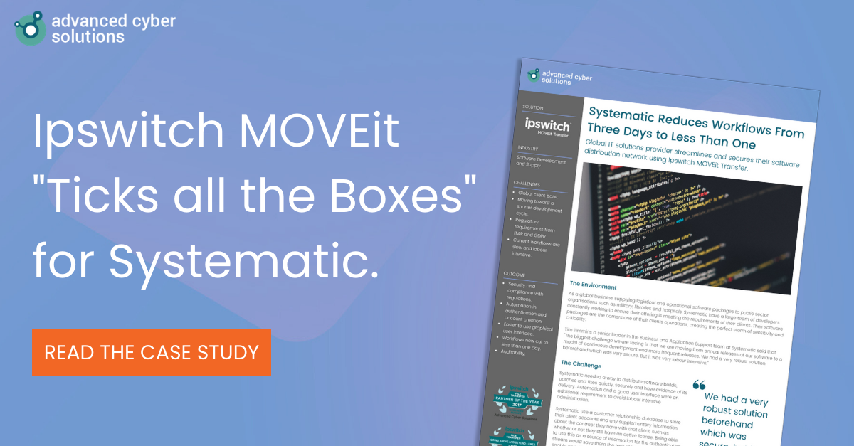 Systematic Case Study for Ipswitch MOVEit