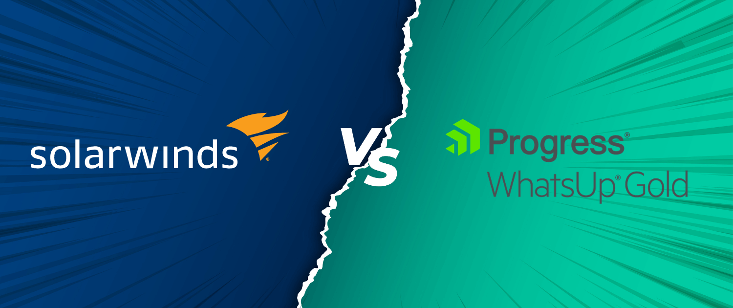 Comparing Progress WhatsUp Gold and SolarWinds